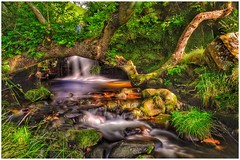 219/366 (jim-green777) Tags: 2016 august britain uk england longexposure slowshutter nd110 ndfilter waterblur stream water crowdonclough edale kinderscout nationalpark thepeakdistrict derbyshire fx fullframe nikond610 ngc