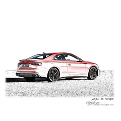 Audi S5 Coupé - Pencildrawing by www.autozeichnungen.net (photography.andreas) Tags: art auto autozeichnung car cardrawing digitalart fineart graphicdesign hintergrund illustration motorsport pencildrawing print racing sketch weiser weiserhintergrund zeichnung artistsontumblr background buycar carporn carsales carsforsale drawing graphicdesigner linedrawingstockimages pencil racingcars white whitebackground 車 audi s5 coupé