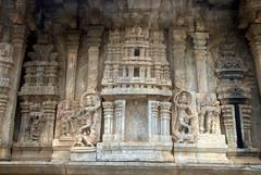 Carvings of Dancers and Warriors (VinayakH) Tags: talakad karnataka india temple hindu chola gangadynasty hoysala carvings vaidyeshvara kirtinarayana