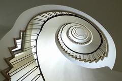 Ovar (Elbmaedchen) Tags: treppenauge treppenhaus stairs staircase stairwell escaliers ovarien ovar