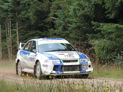 Grampian Stages Rally 2016 (RS Pictures) Tags: src scottish rally championship coltel grampian stages stage 2016 durris ss forest forestry road track special ss6 2 mitsubishi lancer evo motorsport auto