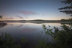 Silence (MartinSommer) Tags: ottawa river sunrise deep sunset nikon landscape longexposure pink purple outdoor seascape