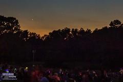 Jupiter Venus Convergence 2016 (The Suss-Man (Mike)) Tags: fireworks gainesville georgia hallcounty jupiter jupitervenusconvergence jupitervenusconvergence2016 nightphotography oakwood planets sonyslta77 starlightcelebration stars sussmanimaging thesussman ung universityofnorthgeorgia venus unitedstates