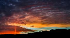 Mullen Pass Sunset (Gentilcore) Tags: sunset sun unitedstates nevada pillar reno washoecounty mullenpass pyramidlakeindianreservation