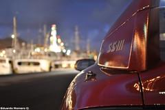 Toyota Celica SS-III Beams (eduardorq) Tags: auto car port puerto wings rear coche toyota nocturnas beams jdm aero spoiler celica redtop vehiculo nightpics sportcar vvti st202 worldcars ssiii