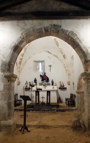 Iglesia de San Martín de Escoto, Llames de Parres, Asturias, Spain
