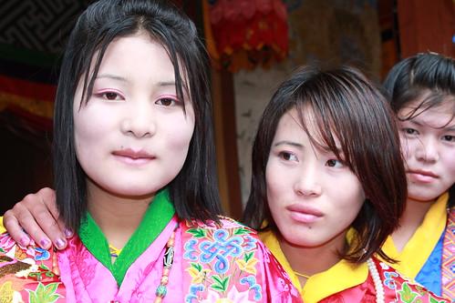Jakar tshechu, Dzongkhag dancers