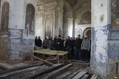 174. Первые работы братии по очистке храма в Кармазиновке 2008 г