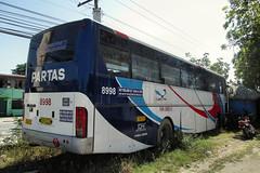 Partas 8998 (III-cocoy22-III) Tags: city bus station philippines sur vigan ilocos carmen 8998 candon partas