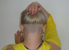 Platinum Blonde (lumacape.pedroso) Tags: shaved nape
