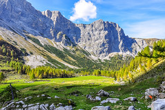 Obere Wolayer-Alm, Krnten, sterreich (thunderbird-72) Tags: autumn oktober mountains alps austria sterreich october europa herbst krnten carinthia berge alm alpen lesachtal karnischealpen nikond90 nikkor1801050mmf3556 wolayeralm