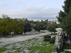 Panathanaic Way, Ancient Agora, Athens, Greece (@eviphotostar_2004) Tags: archaeology hellas athens greece ancientagora ελλάδα αθήνα αρχαία αρχαίααγορά nikoncoolpixl120