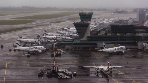 Helsinki airport by Falling Outside The Normal Moral Constraints, on Flickr
