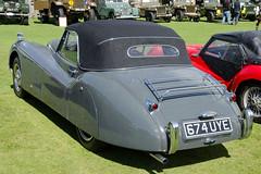 Jaguar XK120 DHC (1953) (SG2012) Tags: auto classiccar automobile oldtimer jaguar oldcar autodepoca motorcar carphoto carpicture cocheclasico voitureclassique carphotograph carimage burleyclassicvehicleshow 17082014 674uye