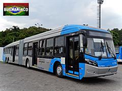 6 1744 Viação Cidade Dutra (busManíaCo) Tags: blue bus azul millennium mercedesbenz ônibus viaçãocidadedutra caioinduscar bluetec5 millenniumbrt