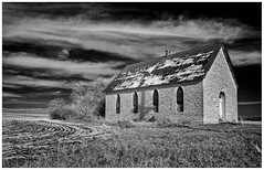 Vicksburg Baptist Church (scott branine) Tags: county church hills kansas baptist smoky vicksburg jewell