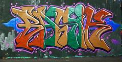 Basik (cocabeenslinky) Tags: street city uk november england urban streetart london art lumix graffiti artist grafitti photos south graf united capital letters kingdom tunnel can spray east panasonic waterloo graff leake se1 artiste 2014 basik dmcg6 cocabeenslinky