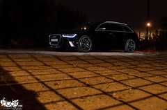 MTM RS6 C7. (Stefan Sobot) Tags: light black car race painting nikon paint flash serbia fast exotic german belgrade audi mtm luxury rare beograd supercar rs6 srbija c7 hamma d7000