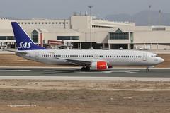 LN-RCX - 2000 build Boeing B737-883, rolling for departure on Runway 06R at Palma (egcc) Tags: sk boeing sas mallorca palma majorca 733 scandinavianairlines b737 pmi staralliance b737800 b738 30196 lepa b737ng b737883 lnrcx sedyh