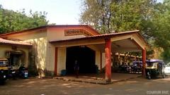 Entrance Building Of Sangameshwar Road Railway Station, Konkan Railways (Saurabh Raut) Tags: road rock train toaster sony trains special shuttle sample third railways sr rare tkd trainspotting ranakpur surat konkan sgr rajdhani railfanning sabarmati sangameshwar ratlam
