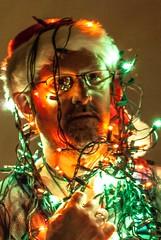 ALL LIT UP (Back Road Photography (Kevin W. Jerrell)) Tags: christmas me myself lights holidays humorous selfportraits selfies nikond60 i kjerrellimges