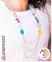 Glimse of Malibu Blue Necklace K3A P2730A-5