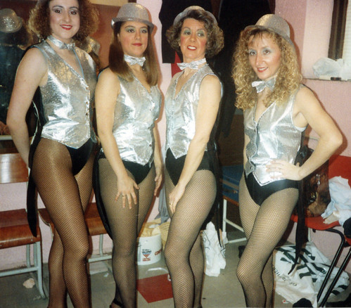 1992 Ali Baba 08 (from left x,x,Lorraine Lightfoot,x)