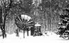 We need more signal....IMG_6750a (dklaughman) Tags: snow blackwhite antenna
