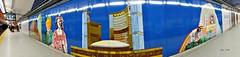Public Art in Toronto's Subway System (Trinimusic2008 - Stay blessed) Tags: toronto ontario canada art love thanks underground subway publictransportation friendship cityhall trains health harmony to february gratitude abundance wellbeing 2015 torontotransitcommission ttcsubway artintransit queenststation trinimusic2008 judymeikle simpsonsbldg