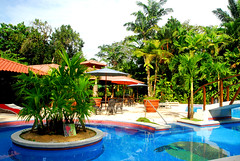 Mawamba's pool (mothclark62) Tags: park costa pool gardens america swimming garden hotel central rica lodge national american latin leisure grounds rican tortuguero mawamba
