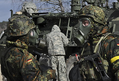 Lakota Troop, RES, CBRN Training, Mar. 4, 2015 (2d Cavalry Regiment) Tags: training germany europe exercise troopers soldiers gta res nato usarmy javelin dragoons vilseck 2cr usareur grafenwoehr 4thsquadron cbrn jmrc rosebarracks grafenwoehrtrainingarea chemicalbiologicalradiologicalandnuclear 2dcavalryregiment regimentalengineersquadron