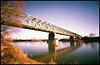 Bridge project (2015 - velvia xpro) (Roberto Messina photography) Tags: italy color film nature analog xpro crossprocessed january pinhole analogue zeroimage asti zero69 2015 fujivelvia100f