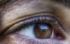 Il mondo visto dagli occhi di mia moglie (aimogiorgia) Tags: occhio riflesso pupilla ciglia