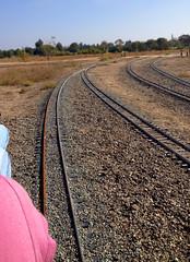 Orange County Model Engineers Train Tracks (hupspring) Tags: railroad track ride tracks rails southerncalifornia orangecounty costamesa traintrack ballast trainride railroadtrack fairviewpark ocme orangecountymodelengineers