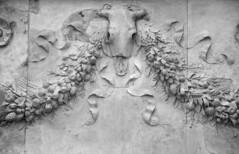 Ara pacis (richardr) Tags: old italy rome roma heritage history museum skull italian europe italia european roman historic museo europeanunion augustus lazio arapacis arapacisaugustae bucrania