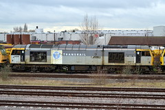 Transrail 60032 - Toton (AJHigham) Tags: two booth grey william class tone 60 branding tmd unserviceable toton 60032 transrail liveried