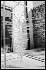 Murano Glass Hurricane (MightyPirateThreepwood) Tags: venice bw glass analog blackwhite minoltax700 sw murano venezia venedig glas negativscan