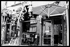 Antwerpen_FL_LR_19 (neelenmarc) Tags: reflection window shop woodwork antique kloosterstraat