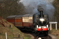 1054 (Cumberland Patriot) Tags: light london tank north engine rail railway loco steam valley western locomotive worth coal webb keighley kwvr 1054 lnwr 7799 58926 062t