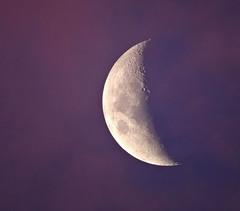 Between day and night (phunnyfotos) Tags: pink sunset moon night evening twilight nikon dusk australia victoria handheld vic lunar gippsland pinkcloud p600 nikoncoolpixp600 phunnyfotos