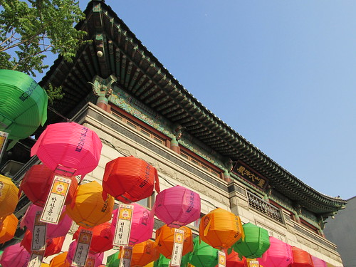 Anniversaire de Bouddha, Corée du Sud
