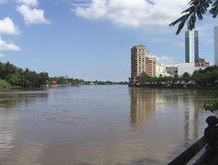 Kuching on the River