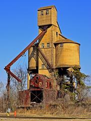 INTERESTING STRUCTURE (Wolf Creek Carl) Tags: railroad buildings georgia macon coalingtower