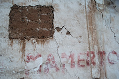 Chinchero, Per 2015 (pslachevsky) Tags: muro per perou chinchero vallesagrado rayado