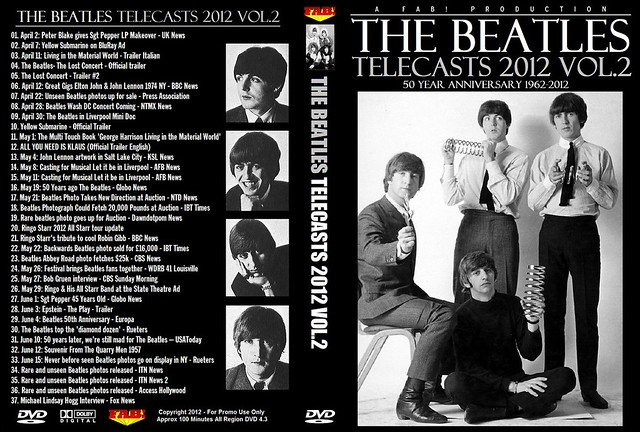 The Beatles Telecasts 2012 Vol 2