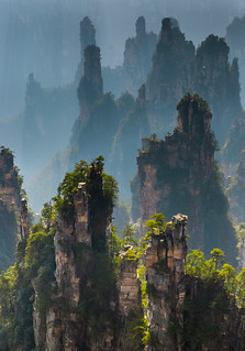 Zhangjiajie National Forest Park - China