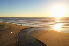 03-01-2015 (whlteXbread) Tags: california winter sunset beach landscape waves pacificocean halfmoonbay dailies 2015 sangregoriostatebeach iphone5s faceit365:date=20150301