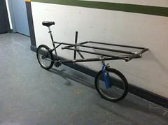 cargo bike from Redline BMX (jimn) Tags: bmx handmade steel redline fillet cargobike brazed