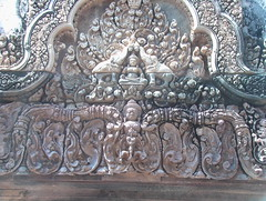 Intricate Carvings of Banteay Srei