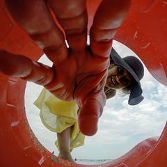 Gotta Catch Them All (AngelBeil) Tags: beach beware addiction pokmon sandbucket gopro